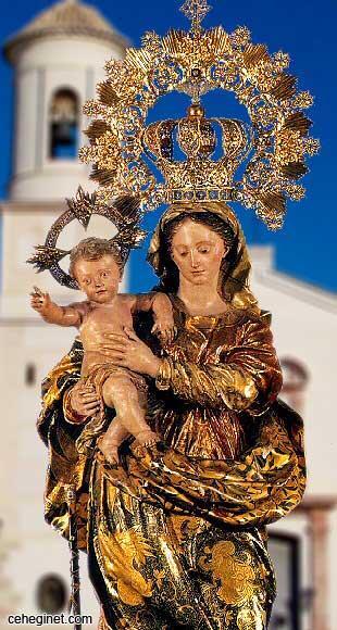 Virgen de las Maravillas patrona de Cehegín
