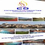 Cartel actividades deportivas nuevo curso