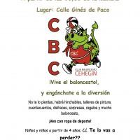 El Club Baloncesto Cehegín organiza una jornada de actividades