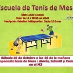 Escuela Tenis de Mesa