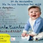 Cartel día derechos niño