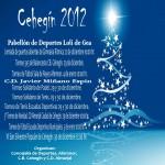 Cartel Navidad Deportiva