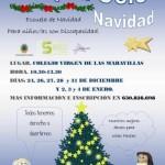 Cartel escuela navidad adaptaocio