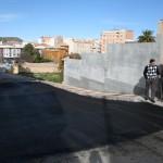 Ensanchamiento calle José Hierro