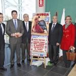 Antonio Puerta en el cartel del festival taurino de la AECC de Murcia