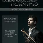 Rubén Simeo actuará en Cehegín