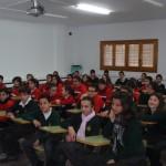 Los escolares reciben charlas sobre la separación selectiva de residuos domésticos