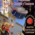 La XIV Concentración Nacional de Tambores y Cornetas inundará Cehegín de los sonidos de la Semana Santa
