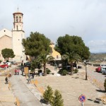 El pavimento de la plaza del Castillo se mejora y consolida respetando su estética original