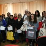 El Ayuntamiento entrega los diplomas a las alumnas del curso de costura