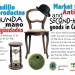 El 17 de marzo se celebra un nuevo mercadillo de segunda mano y antigüedades