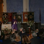 Sebastián Chico une recuerdos cofrades y vivencias sacerdotales en su Pregón de la Semana Santa de Cehegín