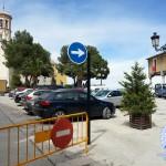 La plaza del Castillo cuenta con nuevas señalizaciones para mejorar la circulación