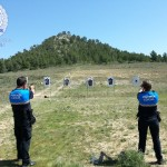 Agentes de la Policía Local realizan una jornada de prácticas de tiro