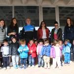 Los alumnos del Centro de Atención a la Infancia visitan las dependencias de la Policía Local