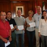 Alcalde, concejales y premiados