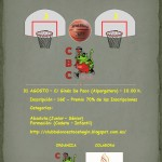 Cartel 3x3 Club Baloncesto Cehegín 2013