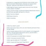 PROGRAMA FIESTAS ARROYO HURTADO 2015