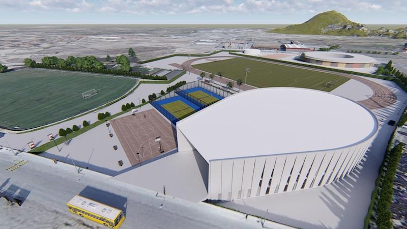 El Ayuntamiento presenta el proyecto del nuevo Pabellón de Cehegín
