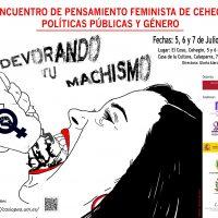 VI Encuentro Pensamiento Feminista