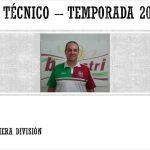 Entrenador Primera Division