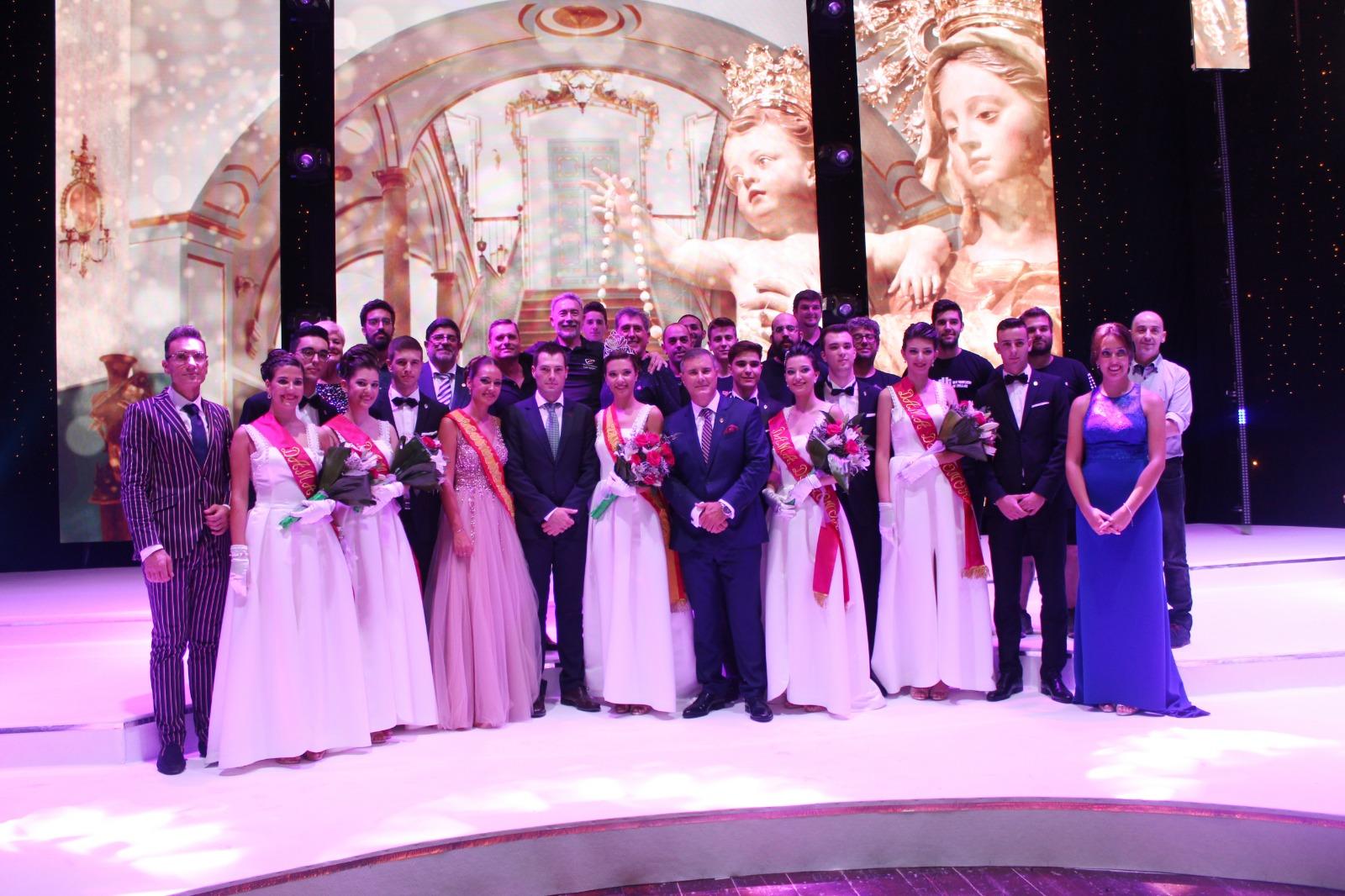El pregón de Alfonso Ciudad y la coronación de la reina dan el pistoletazo de salida a las Fiestas Patronales 2018