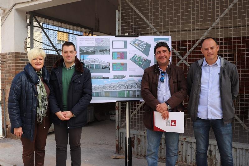 El tercer Plan de Empleo Local se pone en marcha para avanzar en las obras de la Plaza de Abastos