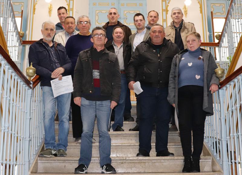 Entregados los diplomas del Tercer Plan de Empleo Local